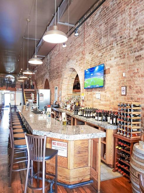 Beautiful Bar and Lounge Area