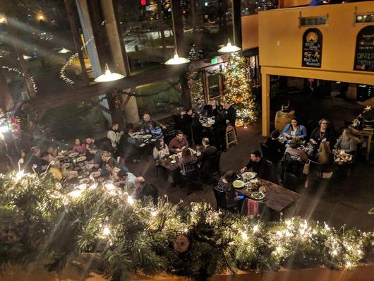 Christmas at Gamberetti's