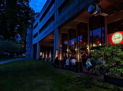 Nightime Outdoor Dining