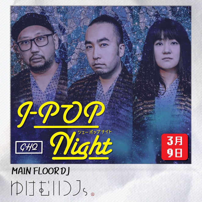 3/9 J-POP NIGHT