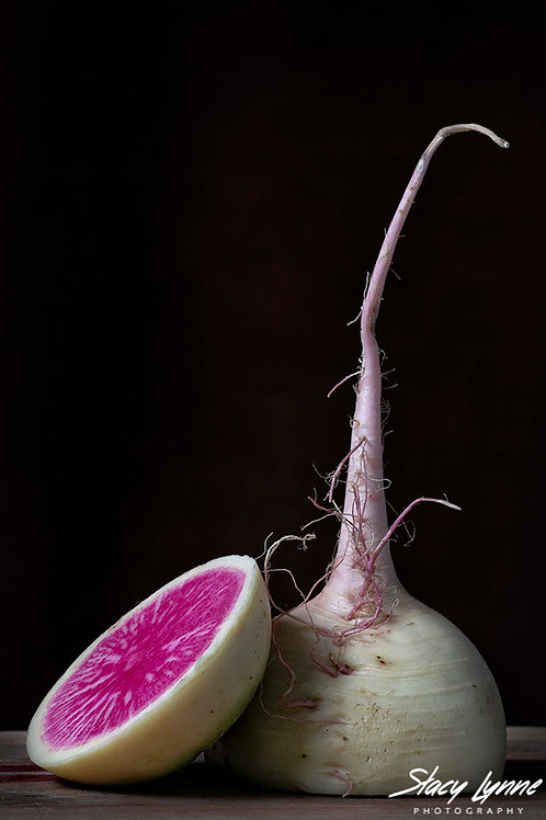 Watermelon Radishes 3