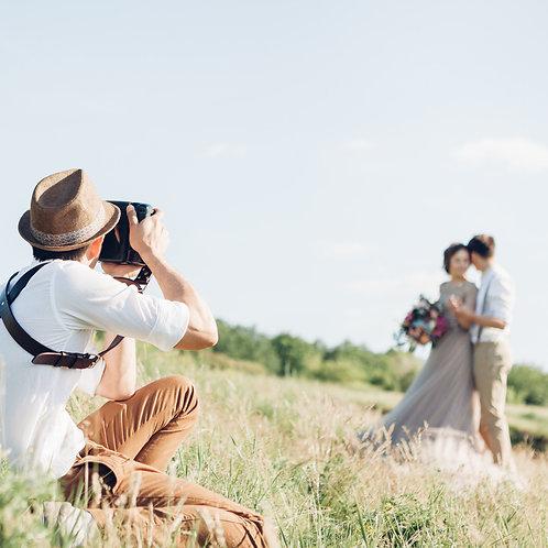3 hod ON-LINE kurz: Svatební focení SPECIFIKA