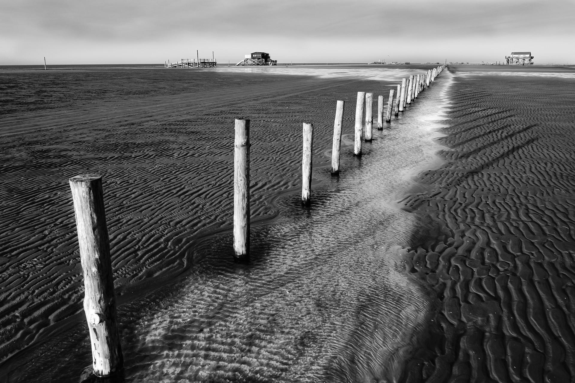 Wintersonne am Strand