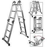 ladder - ladders - plooiladder - vouwladder - opstapje
