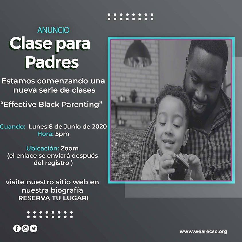 Effective Black Parenting Clase