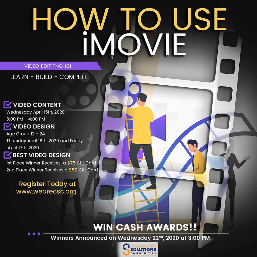 "Crash Course - ""How To Use iMovie"""