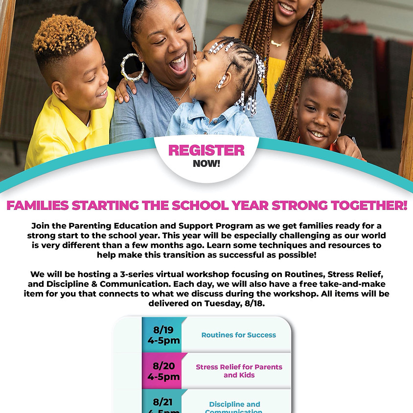 Families Starting the School Year Strong Together
