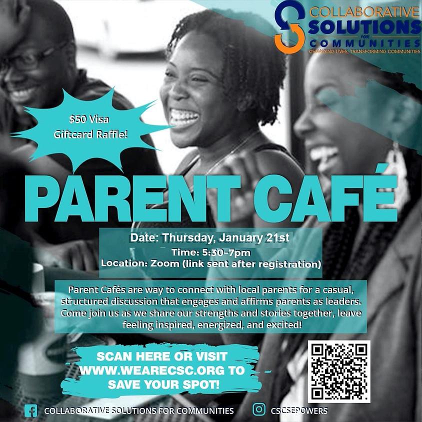Parent Cafe (English)