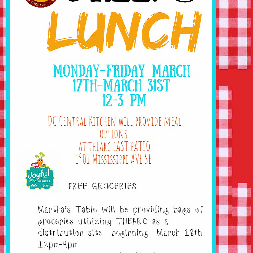 FREE LUNCH!!