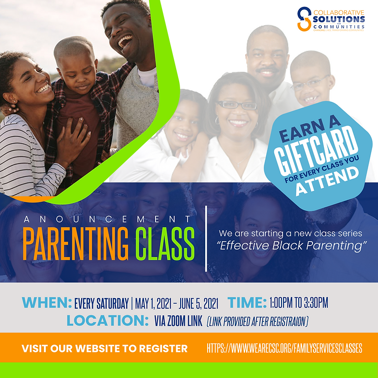 Effective Black Parenting Class (English)