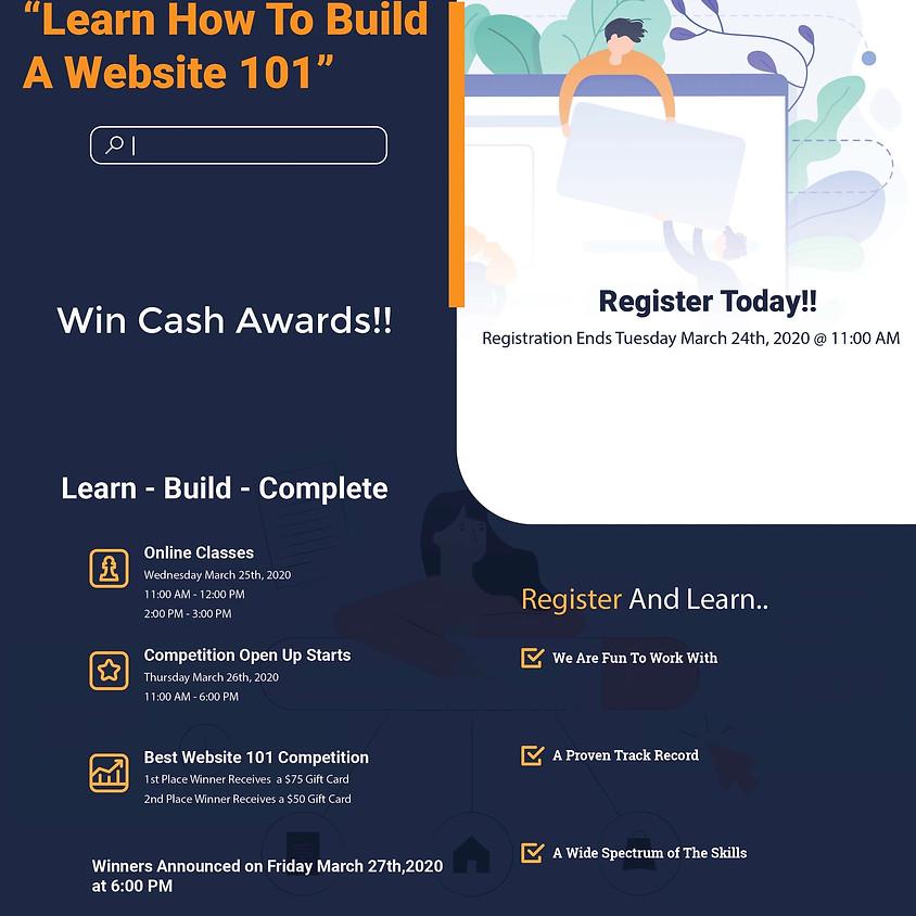 CRASH COURSE - HOW TO BUILD A WEBSITE 101