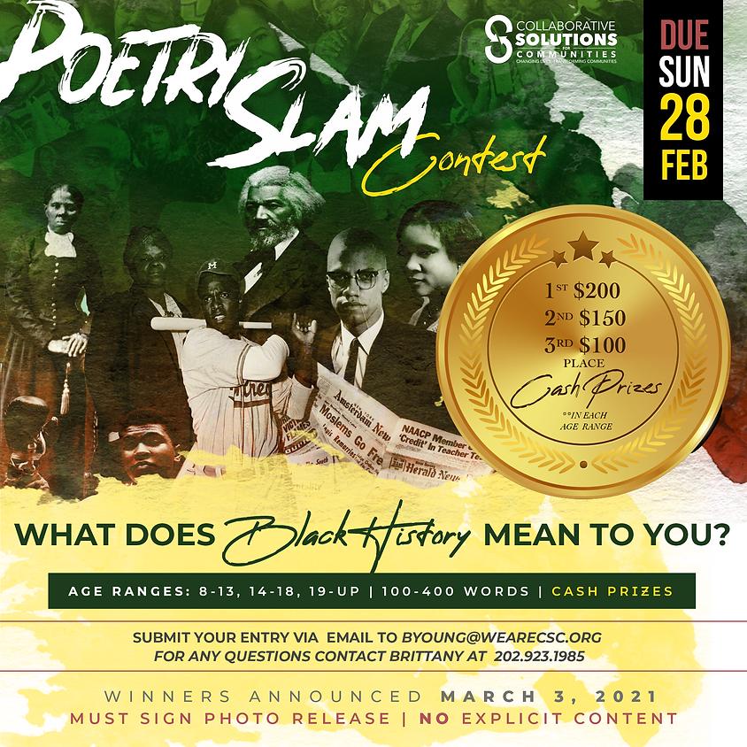 Poetry Slam Contest