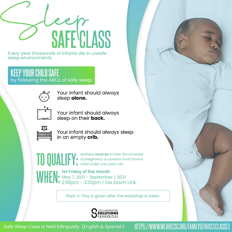 Safe Sleep Class (English)