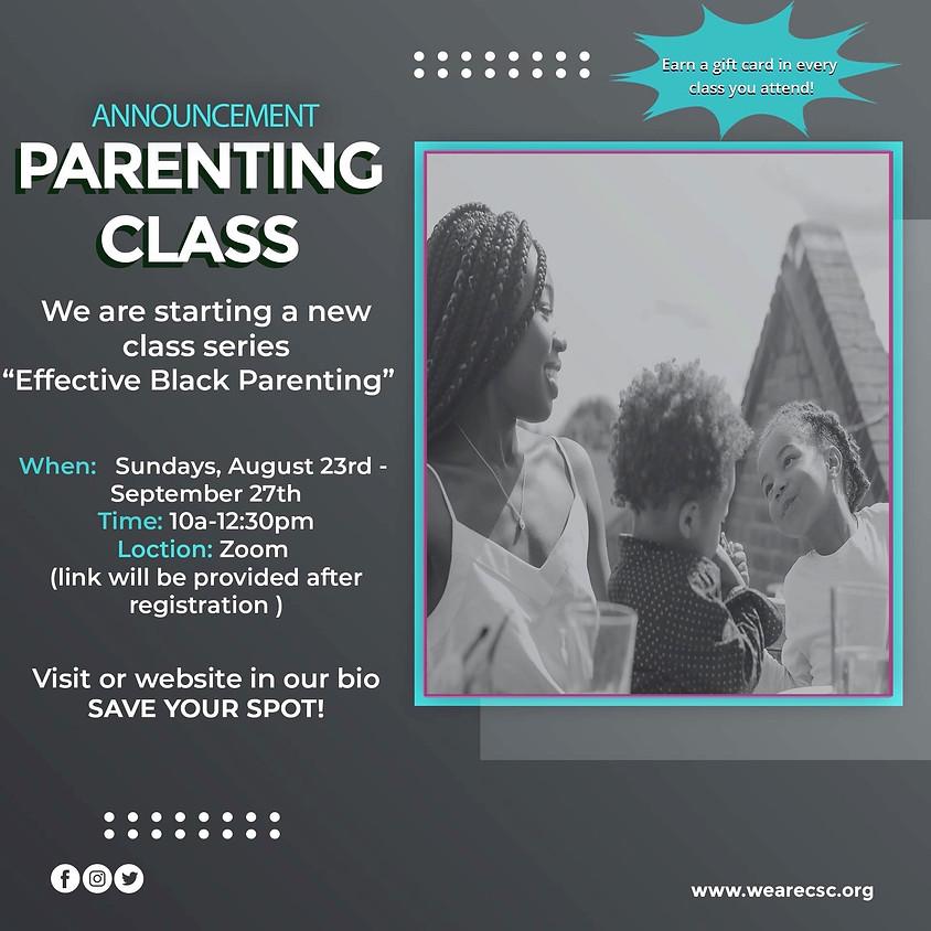 Effective Black Parenting Class