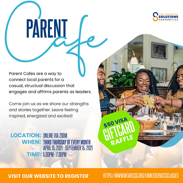 Parent Cafe (English)