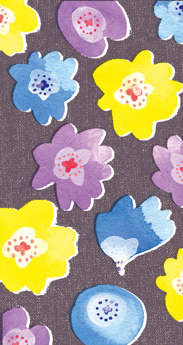 Pattern Design : Blooms