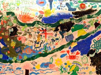 「海と森と生命のつながり」ワークショップ