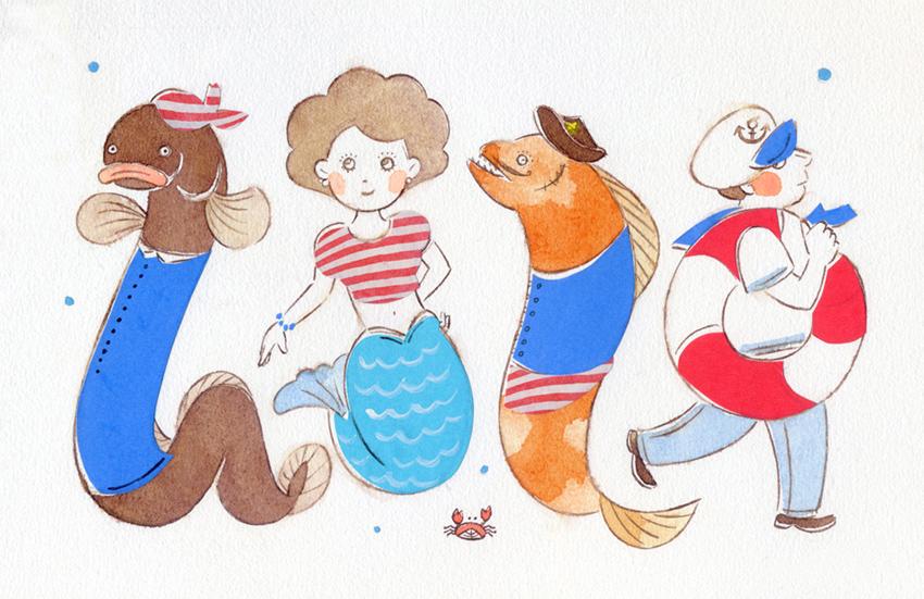 Sea Characters