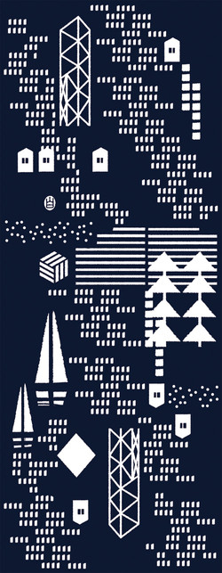 Pattern design : Hong Kong