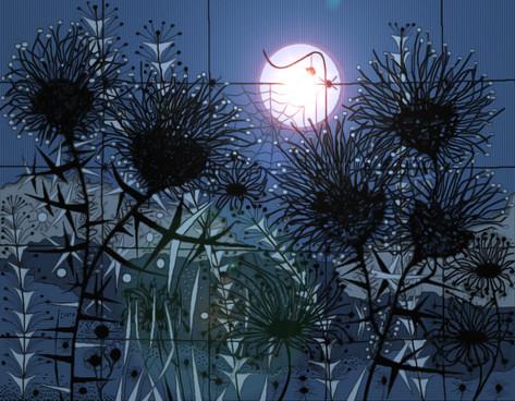 Midnight Meadow #2 - Variation #2