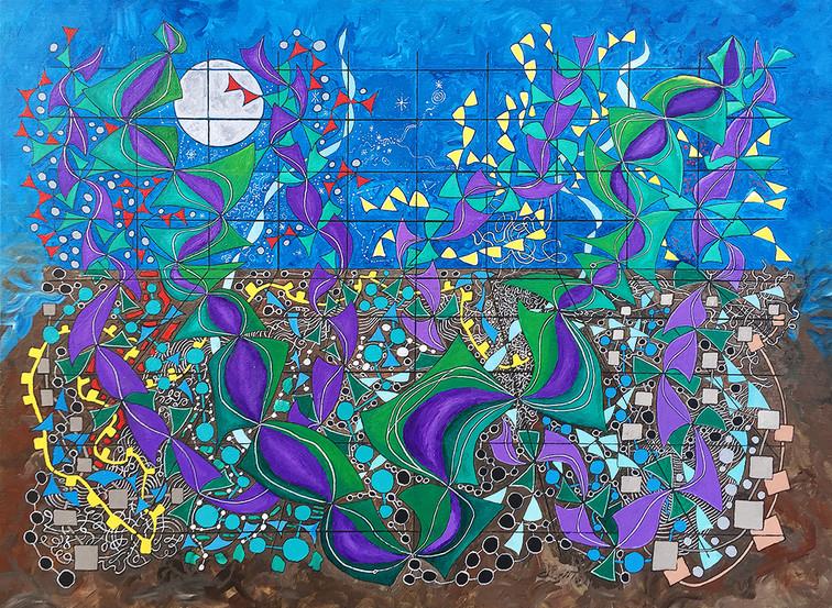 Composition 10 - Midnight Matrix
