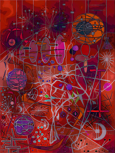 Digital Dreamscape #1 - Variation #10B