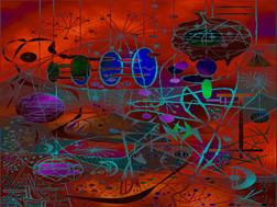 Digital Dreamscape #1 - Variation #18B