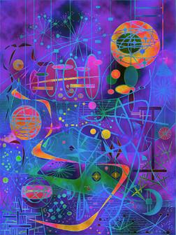 Digital Dreamscape #1 - Variation #21