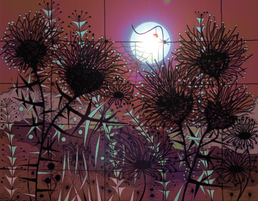 Midnight Meadow #2 - Variation #3