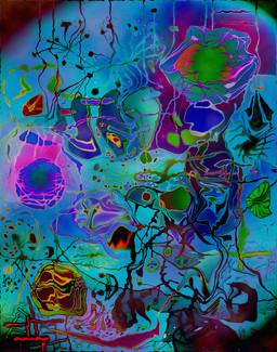 Digital Dreamscape #1 - Variation #8