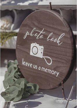 photo book sign