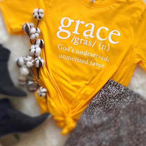 Grace Definition T-Shirt