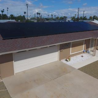 House with Solar