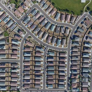 Neighborhood with Solar