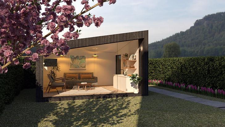 Studio - Refined | Garden Bothies | Garden Rooms & Offices