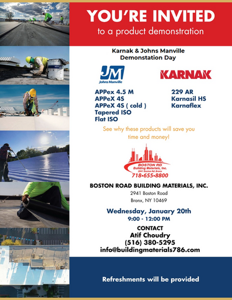 January 20th, 2021 - Karnack and John Manville Demonstration Day