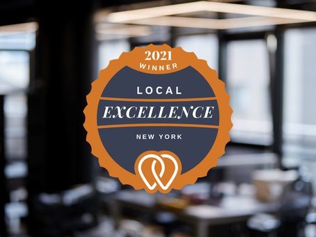 Daniel James Consulting Announced as a 2021 Local Excellence Award Winner by UpCity