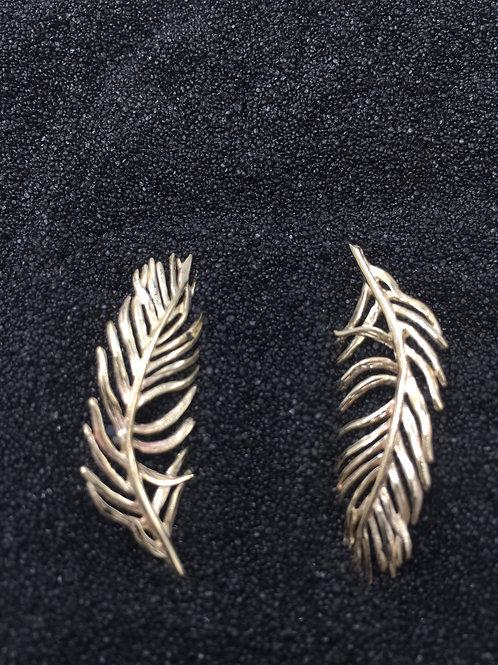Laurel wreath 10 kart gold necklace