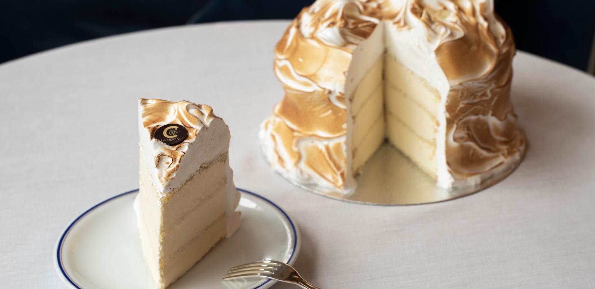 Vanilla Meringue Cake