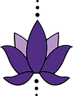 Isolated Lotus Flower Logo - transparent
