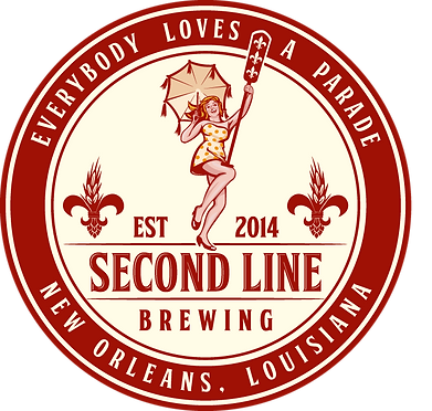2color_Logo Second Line Brewing Medallio