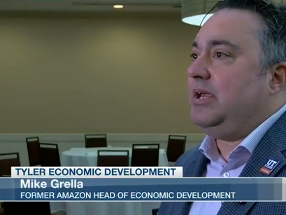 Former Amazon executive says big industries and tech companies could look to expand in Tyler