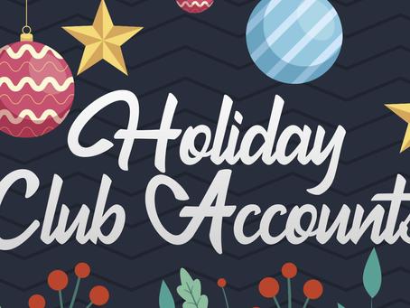 2021 Holiday Accounts