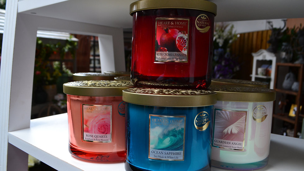 Heart & Home Scented Candles