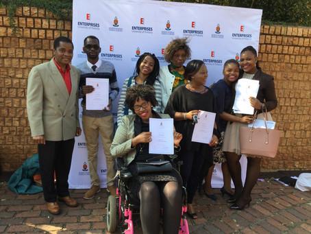 Graduation at Enterprises, University of Pretoria, May 12, 2017
