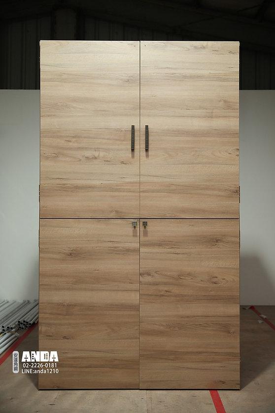 角鋼封板衣櫥,衣櫃,角鋼家具