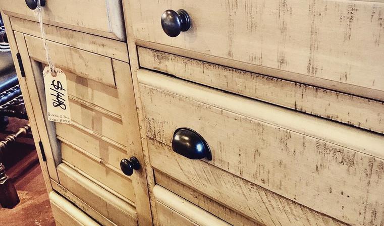 Cottage Creek Brockton Two Tone Dresser.