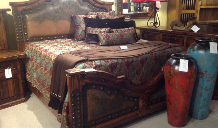 LMT ZLUNA-REC034 Tooled Leather Bed.jpg
