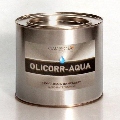 """Грунт-эмаль водно-дисперсионная по металлу  """"OLICORR-AQUA"""""""