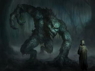 All hail the swamp monster!